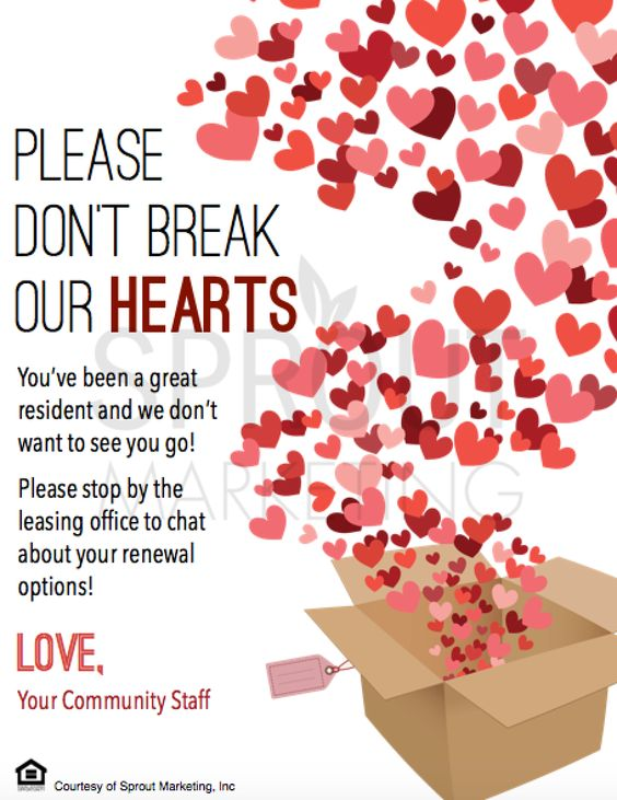 "valentines day meme for marketing - Introducing the ""Don't Break Our Hearts"" renewal It's as"