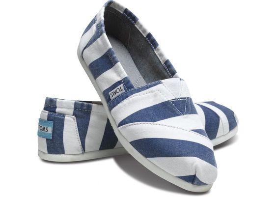 Blue Beckett TOMS