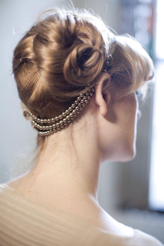 Gold Art Deco Headband