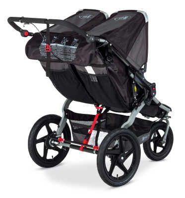 BOB Trailers, Inc. Revolution PRO Duallie Stroller - Black ST1331