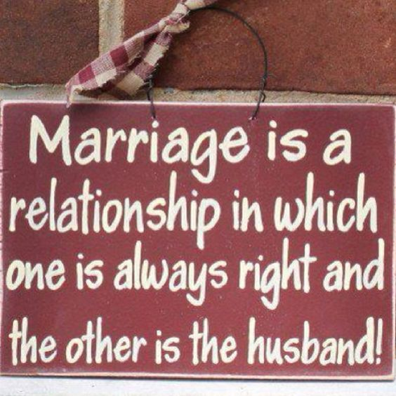 Love and Marriage...