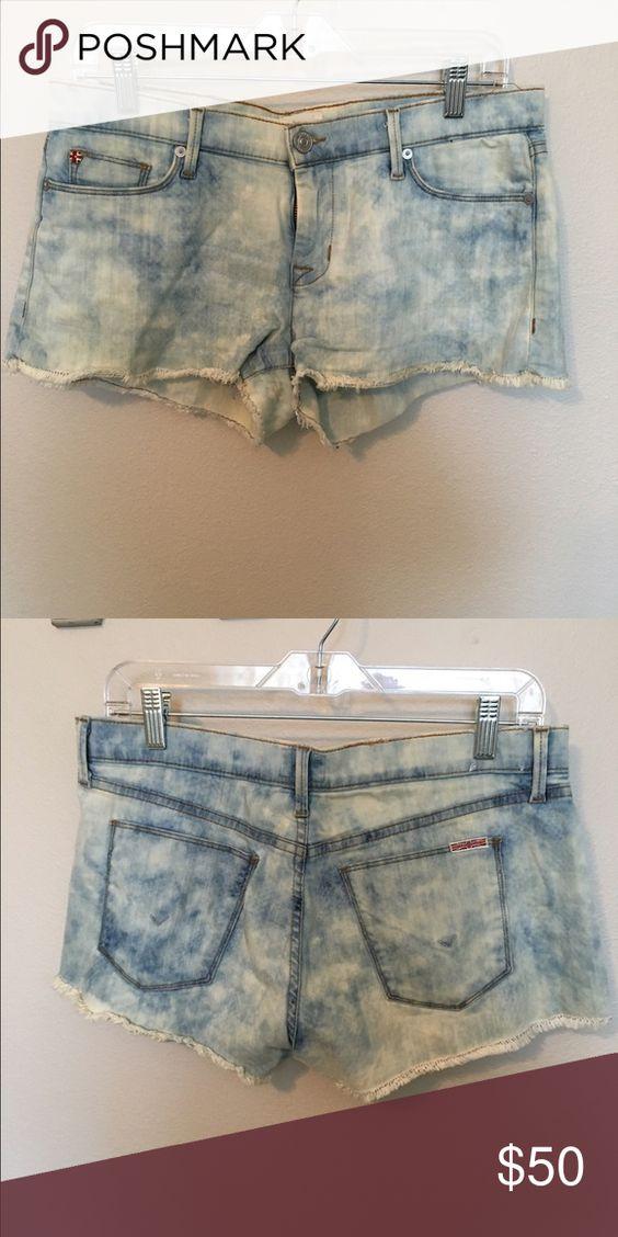 Hudson jean shorts Very comfortable Jean shorts. Worn a few times ...