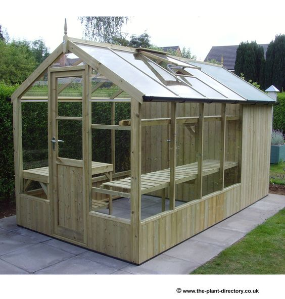 Greenhouse Shed Sheds And Greenhouses On Pinterest