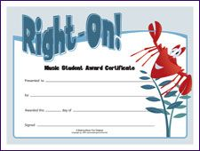 Right on music achievement award free printable certificate right on music achievement award free printable certificate httpmakingmusicfunhtmprintitoliverm pinterest free printable yelopaper Image collections