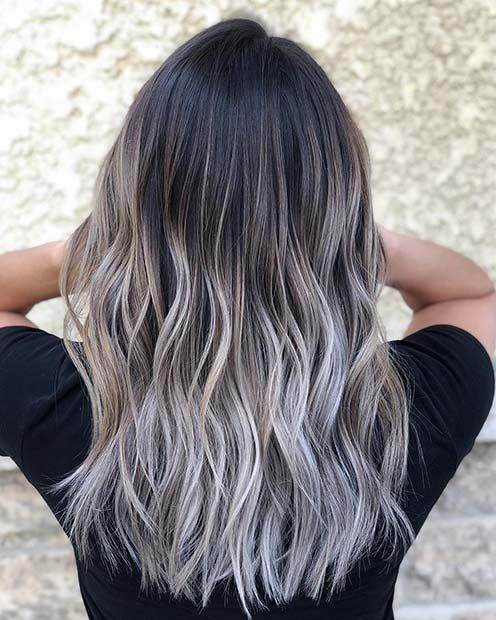 21 Chic Examples Of Black Hair With Blonde Highlights Page 2 Of 2 Stayglam Black Hair With Blonde Highlights Black Hair With Highlights Blonde Hair Color