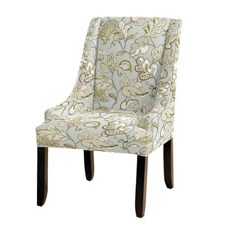 Gramercy Upholstered Chair in Felicity Spa
