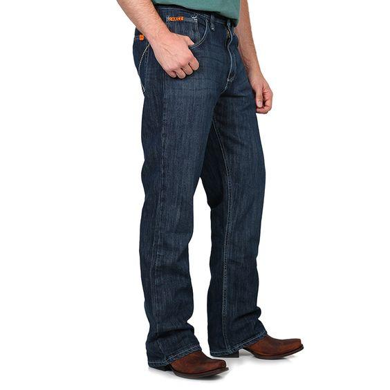 Wrangler FR 20X Vintage Boot Cut Jeans - Denim (FR42MWD) $59.88