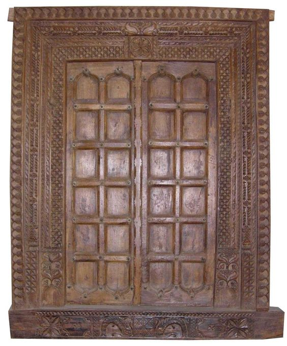 Pictures of different types of antiques wide antique for Types of wood doors are made of