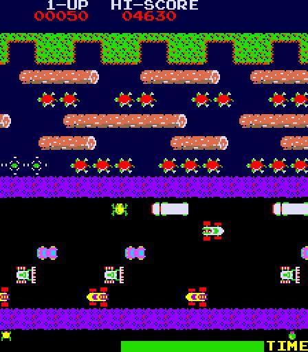 FROGGER Video Game by Atari (1981)
