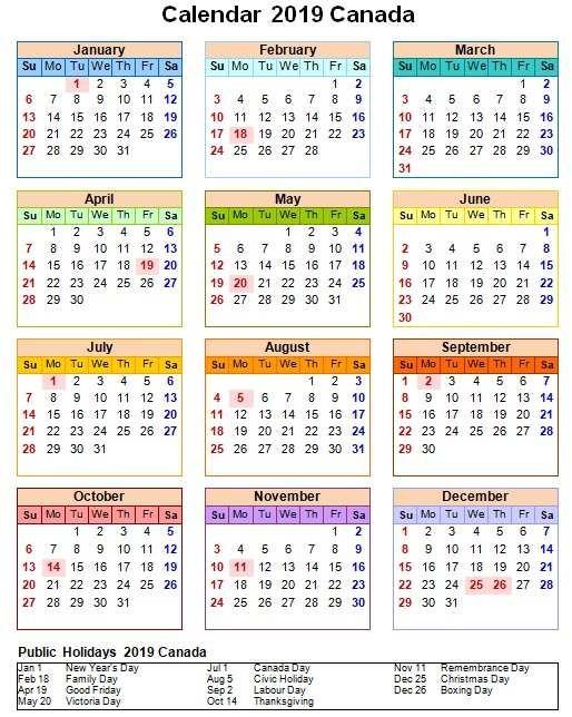 20+ 2022 Calendar Canada - Free Download Printable ...