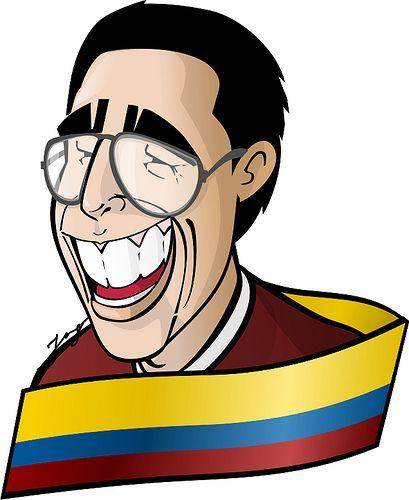 Caricatura homenaje para Jaime Garzón