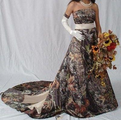 Mossy oak wedding mossy oak and themed weddings on pinterest for Mossy oak camo wedding dress