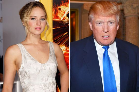 """Jennifer Lawrence Says a Donald Trump Presidency Would Be """"The End of the World"""" 