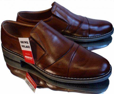 40 Koniak Szerokie Wsuwane Mokasyny Teg H 40 Dress Shoes Men Oxford Shoes Dress Shoes