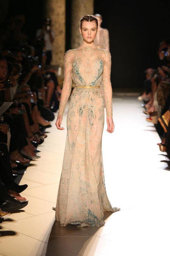 Elie Saab Haute Couture Fall/Winter 2012-2013 Fashion Show