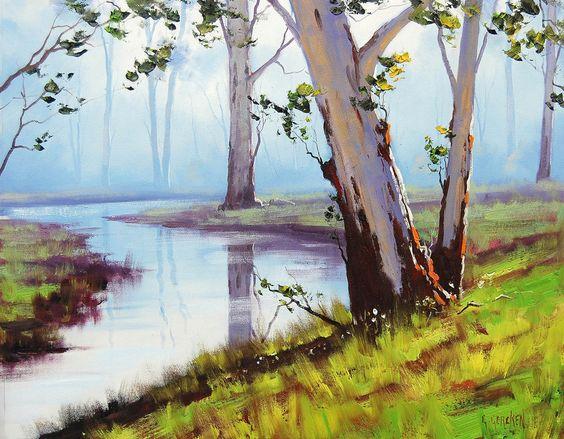 Australian Landscape by artsaus.deviantart.com on @deviantART