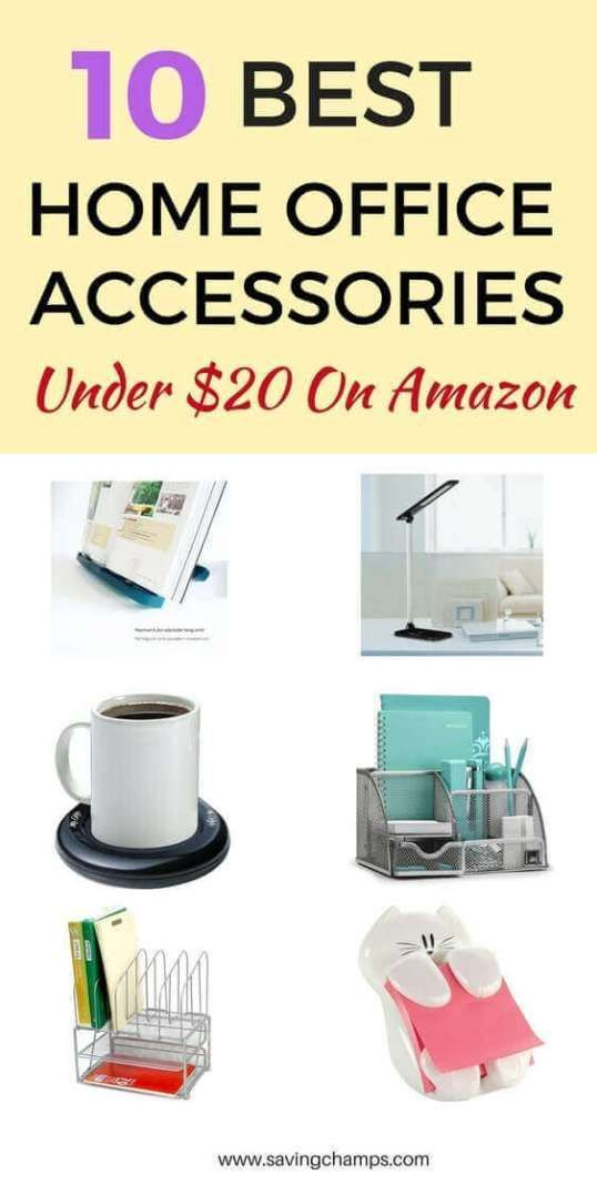10 Best Home Office Accessories Under 25 From Amazon Home Office Accessories Office Organization At Work Home Office