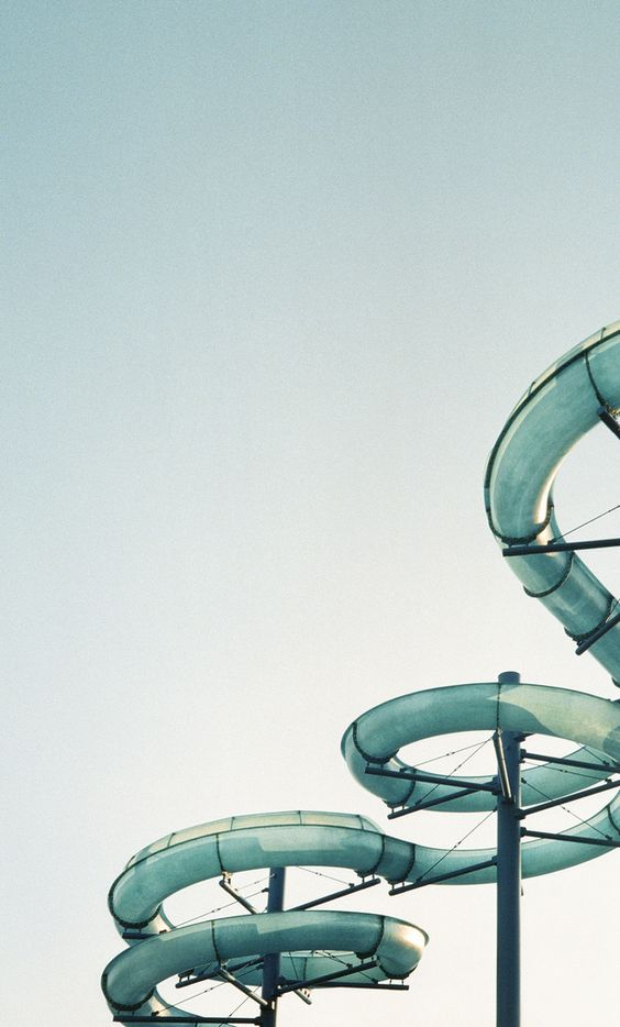 we want to go down a water slide right now!: