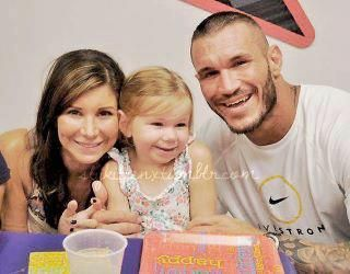 Randy Orton, his wife Sam & his daughter Alanna...I want a ...