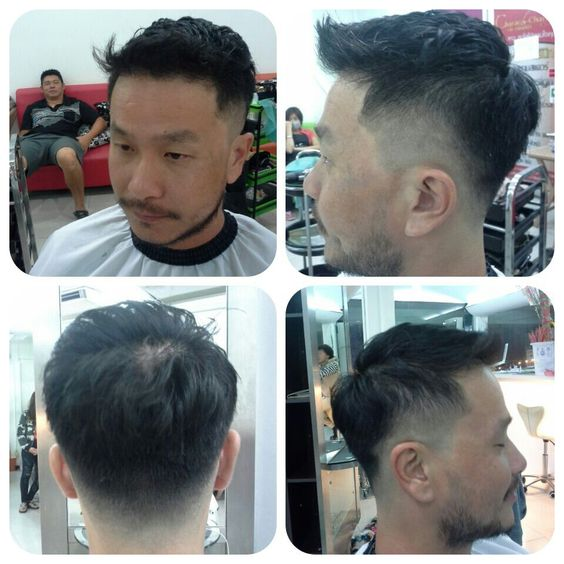 My hair cut for men