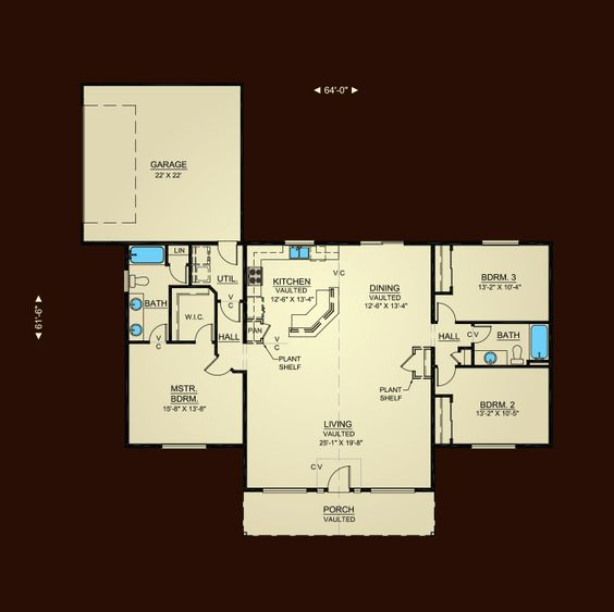 Image gallery hiline homes 1780 for Hiline homes plans