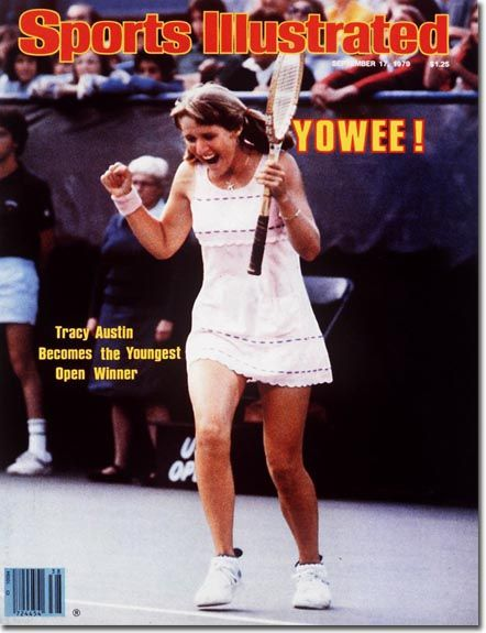 Tracy Austin's SI cover, youngest woman to win U.S. Open - 1979
