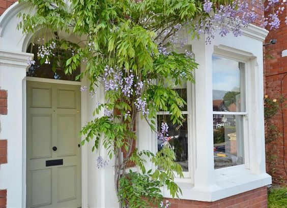 Perfect Painted Modern Country Front Doors