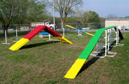 Dog agility equipment make your own