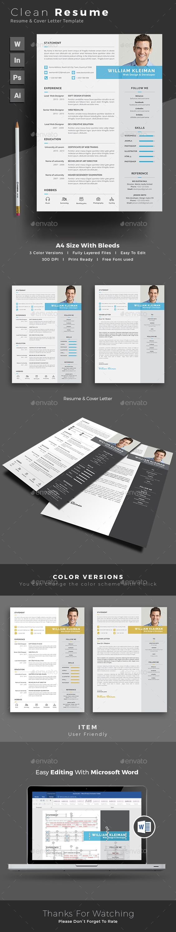 resume resume resumes stationery here graphicriver net