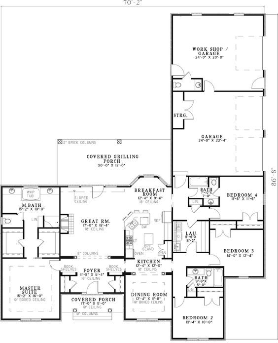 House Plans Home Plans And Floor Plans From Ultimate Plans Shop House Plans Floor Plans Country Floor Plans