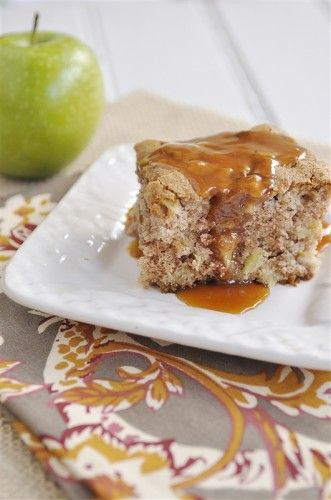 Apple Cake - this site is full of delicious recipes! :)