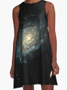 Cosmos Galaxy A-Line Dress