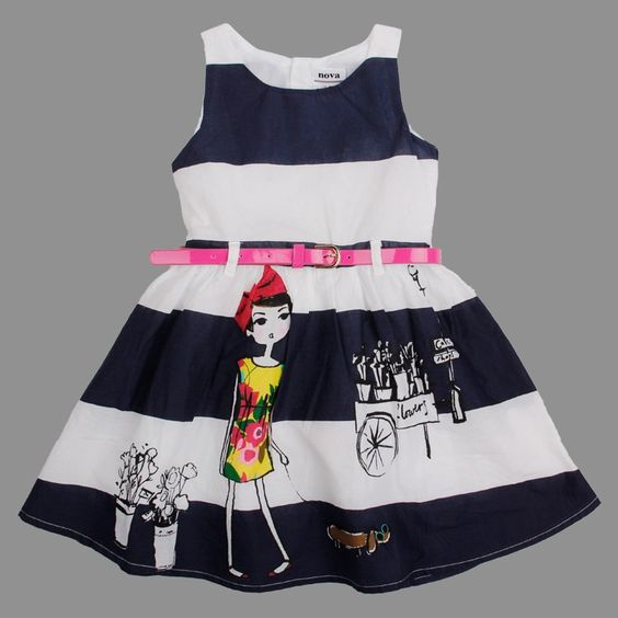 Baby Girl Toddler Puppy Flower Summer Spring Dress. Baby Girl Toddler Puppy Flower Summer Spring Dress With Belt This kids clothes is perfect for birthday, party, and other special occasions. Can also be worn casually All sizes are true sizes Buy with confidence