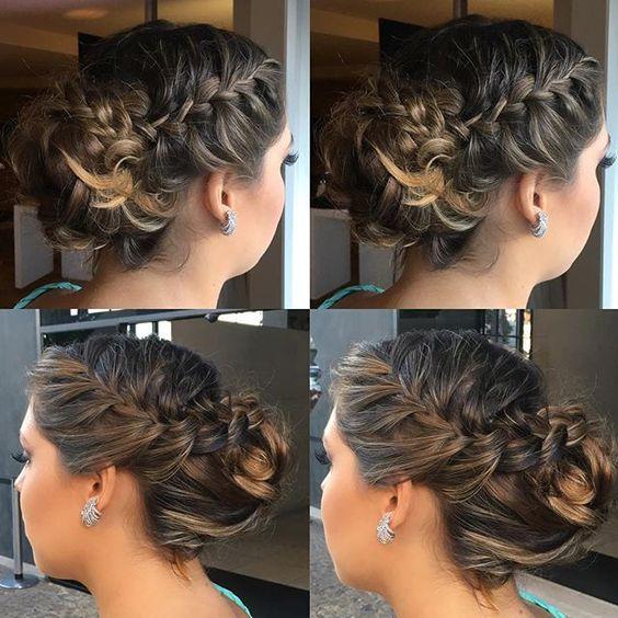 Coque trança do dia!!! ❤️ #HairThiFor