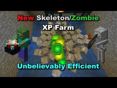 How To Make A Xp Farm In Minecraft Bedrock 1 14 Overpowered Skeleton Zombie Xp Farm Minecraft Tutorial Youtube Minecraft Tutorial Minecraft Minecraft Designs