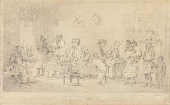 File:Protector of Slaves Office (Trinidad) by Richard Bridgens.jpg