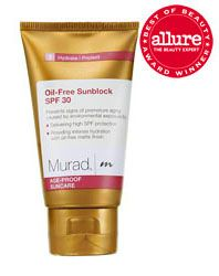 Murad Oil-Free Sunblock SPF 30, 1.7 fl. oz.-For all skin types.  Prevents signs of premature aging caused by environmental exposure by: Delivering high SPF protection