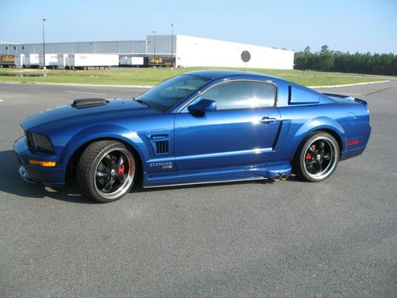 Two Tone 03 Gt Mustang Vista Blue 2008 Ford Mustang Gt