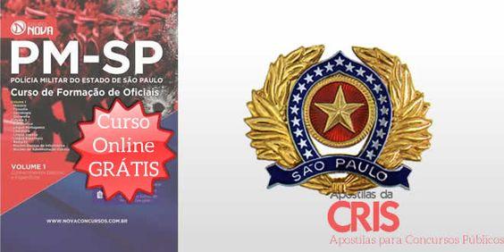 Saiba Mais Apostila CFO PMESP Impressa. Curso Online Grátis