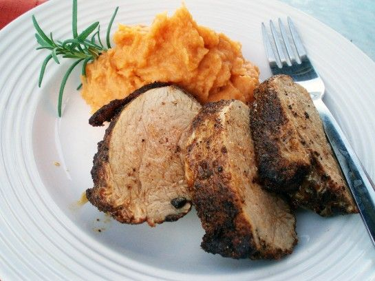 mashed rosemary rosemary sweet tenderloin 2 pork loin pork tenderloins ...