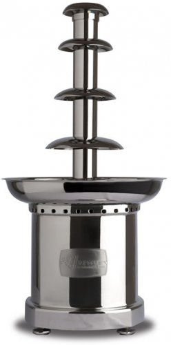 """Professional SQ2 30"""" Chocolate Fountain - Ideal for Buffets, Coffee shops and parties of up to 80 people."""