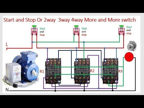 14 Pin Relay Wiring | Working | Base Wiring Diagram, Three ...  Way Switch Wiring Diagram With Relay For on 3 way rocker switch wiring diagram, 3 way combination switch wiring diagram, 3 way speaker wiring diagram, 3 way rotary switch wiring diagram,