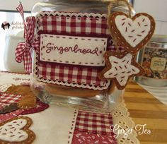 Cartel tarro galletas. Taller Online Ginger Tea