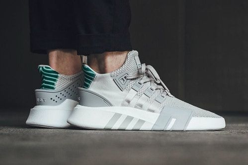 "An On-Feet Look at the adidas EQT Basketball ADV in ""Grey/Sub ..."