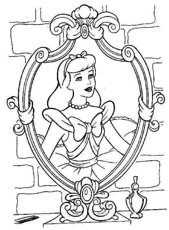 Cinderella 26 Ausmalbilder