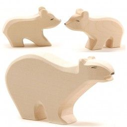 Eisbären 3tlg. Ostheimer SET