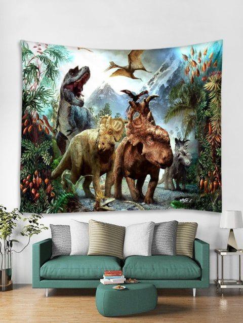 3d Dinosaur Pattern Tapestry Art Decoration Tapestry Art Tapestry Tapestry Wall Art