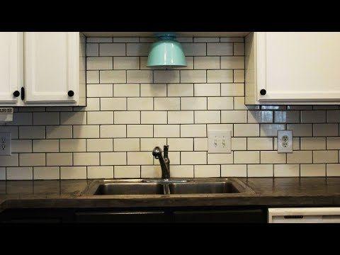 Youtube Subway Tile Kitchen Kitchen Tiles Backsplash Subway Tile Backsplash Kitchen