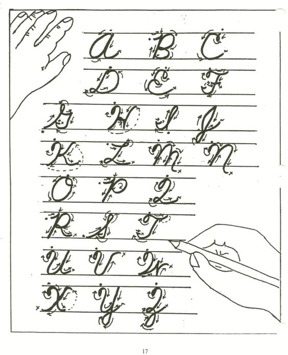 Do You Know How To Write In Cursive?