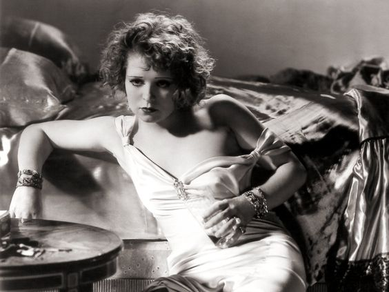 Clara Bow ensconced in fabulousness